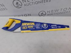 "1 IRWIN JACK UNIVERSAL DESIGN SAW 20"" (500MM) RRP £15"
