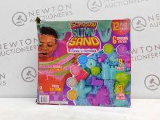 1 BOXED SURPRISE SLIMY GLOOP SAND PLAYSET (3+YEARS) RRP £29