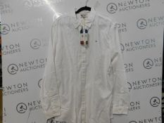 1 MENS TOMMY JEANS SHIRT IN WHITE SIZE XL RRP £39