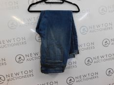 1 PAIR OF JESSICA SIMPSON WOMENS ROLLED CROP SKINNY FIT JEANS SIZE 18 RRP £49.99