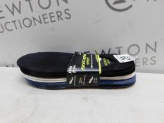 1 NEW PACKED 8 PAIRS OF SKECHERS SPORT MENS NO SHOW SOCKS SIZE 6-11 RRP £39.99