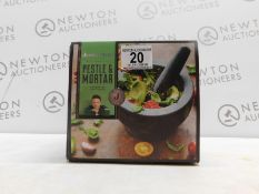 1 BOXED JAMIE OLIVER STONE PESTLE AND MORTAR RRP £44.99