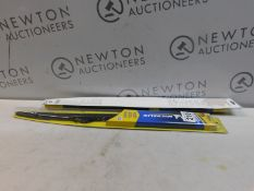2 PACKS OF MICHELIN STEALTH WIPER BLADES IN VARIOUS SIZES RRP £39.99