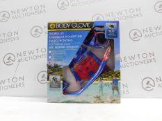 1 BRAND NEW BOXED BODY GLOVE SNORKEL SET RRP £49