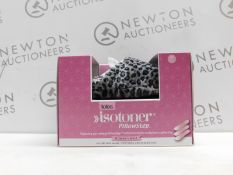 1 BOXED TOTES WOMENS ISOTONER PILLOWSTEP MULE SLIPPERS SIZE M UK RRP £29.99