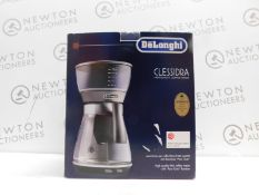 1 BOXED DELONGHI CLESSIDRA ICM17210 FILTER COFFEE MACHINE RRP £159
