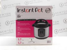1 BOXED INSTANT POT DUO SV 9 IN 1 ELECTRIC PRESSURE COOKER 5.7L RRP £115