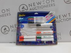 1 PACK OF HELLIX WHITEBOARD MARKERS RRP £19