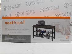 1 BOXED NEATFREAK SHOE STORAGE BENCH RRP £39
