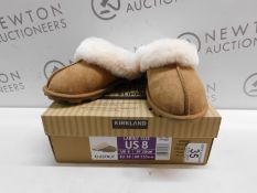 1 NEW BOXED LADIES KS SHEARLING SLIPPERS RRP £29