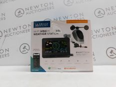 1 BOXED LA CROSSE TECHNOLOGY WIRELESS WIND & WEATHER STATION RRP £129
