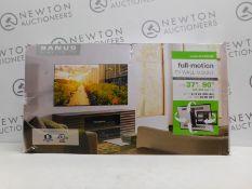 "1 BOXED SANUS 37""-90"" TILT & EXTEND TV WALL MOUNT RRP £89.99"