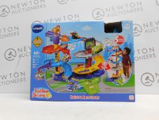 1 BOXED VTECH TOOT-TOOT TWIST & RACE TOWER SET RRP £49