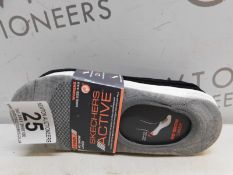1 PACK OF 7 PAIRS OF SKECHERS ACTIVE NO SHOW LINER WOMENS SOCKS SIZE 5-9.5 RRP £19.99