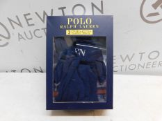 1 BOXED POLO RALPH LAUREN 3PC STRETCH COTTON CLASSIC TRUNKS SIZE S RRP £39.99