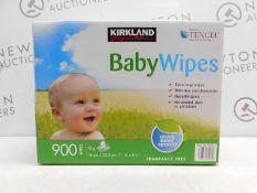 1 BOXED 8PK (APPROX) KIRKLAND SIGNATURE 900 ULTRA SOFT BABY WIPES RRP £29.99