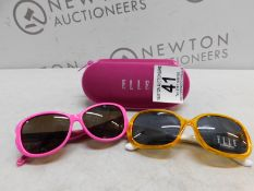 1 GIRLS ELLE SUN GLASSES WITH CASE RRP £19.99