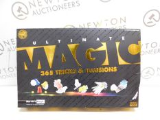 1 BOXED MARVINS IMAGIC DELUXE 365 BOX OF MAGIC TRICKS RRP £49.99