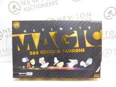 1 BOXED MARVINS IMAGIC DELUXE 365 BOX OF MAGIC TRICKS RRP £49.99