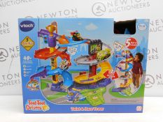 1 BOXED VTECH TOOT-TOOT TWIST & RACE TOWER SET RRP £49.99