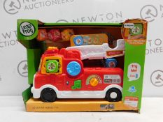 1 BOXED LEAPFROG TUMBLING BLOCKS FIRE ENGINE RRP £29