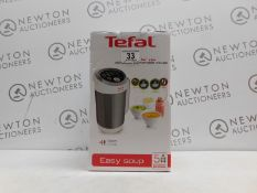 1 BOXED TEFAL 1000W EASY SOUP MAKER RRP £89.99 (POWERS ON)