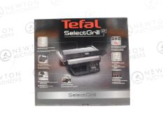1 BOXED TEFAL SELECT GRILL GC740B40 5 PORTION ELECTRIC HEALTH GRILL RRP £199 (POWERS ON,
