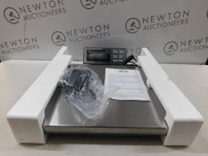 1 BOXED ABCON PROSHIP LARGE HEAVY DUTY ELECTRONIC SCALE (181KG/ 400LBS CAPACITY) RRP £129.99