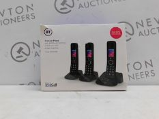 1 BOXED BT NUISANCE CALL BLOCKER TRIO DIGITAL CORDLESS ANSWERPHONE SYSTEM RRP £179.99