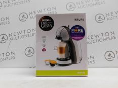 1 BOXED NESCAFE DOLCE GUSTO INFINISSIMA AUTOMATIC COFFEE POD MACHINE BY KRUPS RRP £114.99 (POWERS