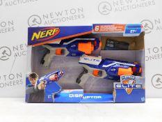 1 BOXED SET OF 2 NERF N-STRIKE ELITE DISRUPTOR GUNS RRP £29.99