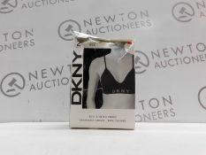 1 BOXED DKNY 2PK SEAMLESS BRA SIZE M RRP £29.99