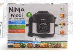 1 BOXED NINJA FOODI MAX OP350UK 9-IN-1 6L MULTI PRESSURE COOKER & AIR FRYER RRP £199