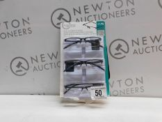 1 PACK OF DESIGN OPTICS READING GLASSES IN +1.75 STRENGTH RRP £19.99
