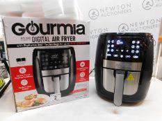 1 BOXED GOURMIA DIGITAL 6QT/5.7L DIGITAL AIR FRYER RRP £89.99 (LIKE NEW, POWERS ON)