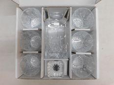 1 BOXED ROYAL DOULTON 7 PIECE DECANTER SET RRP £89.99