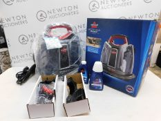 1 BOXED BISSELL SPOTCLEAN PROHEAT PORTABLE SPOT AND STAIN CARPET CLEANER RRP £199 (LIKE NEW, POWERS