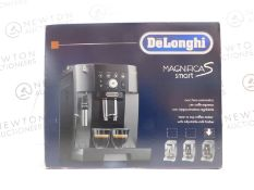 1 BOXED DELONGHI MAGNIFICA ECAM250.33.TB SMART BEAN TO CUP COFFEE MACHINE RRP £449 (POWERS ON)