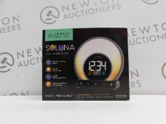 1 BOXED LA CROSSE TECHNOLOGY SOLUNA LIGHT ALARM CLOCK RRP £49.99