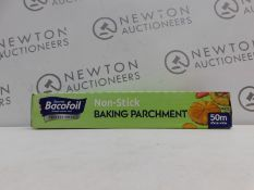 1 BOXED BACOFOIL NON STICK BAKING PARCHMENT RRP £29.99