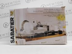 1 BOXED SABATIER EXPANDABLE DISH RACK RRP £44.99