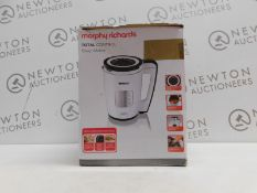 1 BOXED MORPHY RICHARDS TOTAL CONTROL SOUP MAKER RRP £89.99