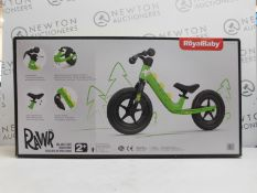 1 BOXED ROYALBABY BOYS BALANCE BIKE 12 INCH SPORT WALKING BIKE RRP £99