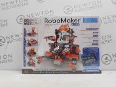 1 BOXED CLEMENTONI SCIENCE MUSEUM ROBO MAKER PRO RRP £49.99