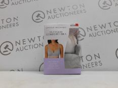 1 BOXED CAROLE HOOCHMAN 2PK SEAMLESS COMFORT BRA SIZE M RRP £29.99