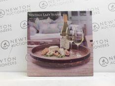 1 BOXED TOWLE VINTAGE LAZY SUSAN RRP £49.99