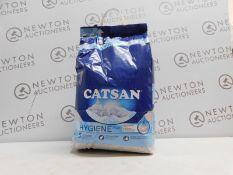 1 BAG OF CATSAN CAT LITTER RRP £34.99