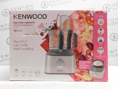 1 BOXED KENWOOD FDM312SS MULTIPRO COMPACT+ FOOD PROCESSOR WITH ACCESSORIES £179.99