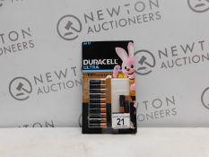 1 PACK OF DURACEL AAA BATTERIES RRP £19