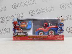 1 BOXED SPIDER-MAN MARVEL SUPER HERO ADVENTURES R/C CAR RRP £29